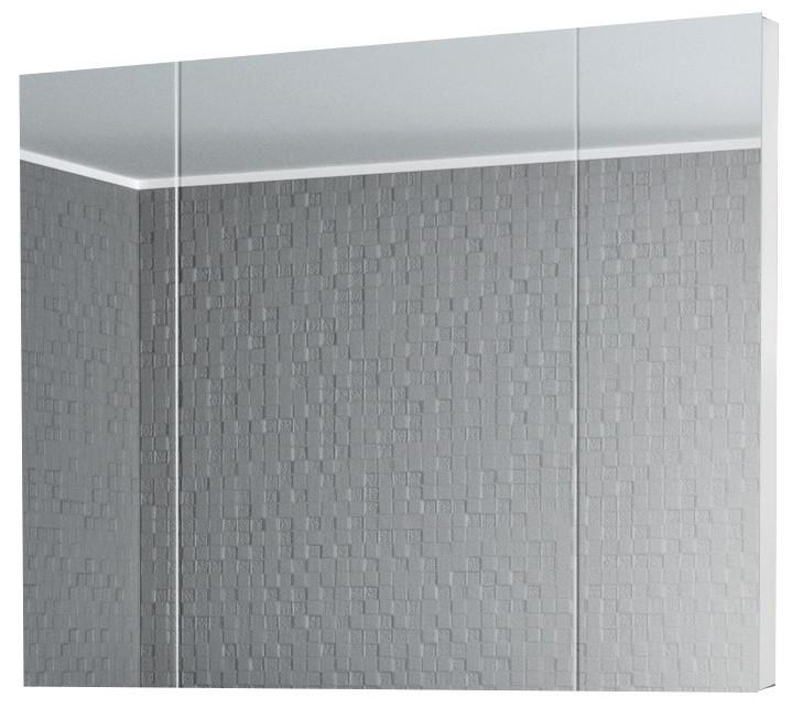 Зеркальный шкаф 80х80 см белый Alvaro Banos Viento 8403.5000 зеркальный шкаф alvaro banos toledo 8409 7022
