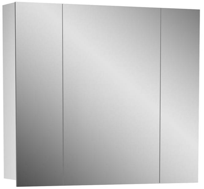 Зеркальный шкаф 80х70 см белый Alvaro Banos Viento 8403.5000