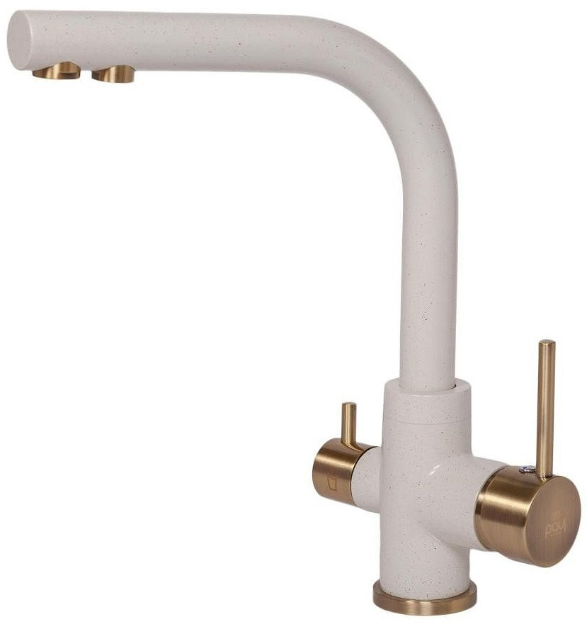 Смеситель для кухни с подключением к фильтру Paulmark Essen Es213011-331-BR смеситель для кухни с подключением к фильтру paulmark essen es213011 418