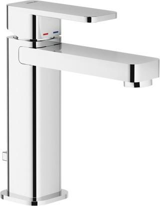Смеситель для раковины с донным клапаном Nobili Loop LP90118/1CR смеситель для ванны teknobili loop lp90110 1cr