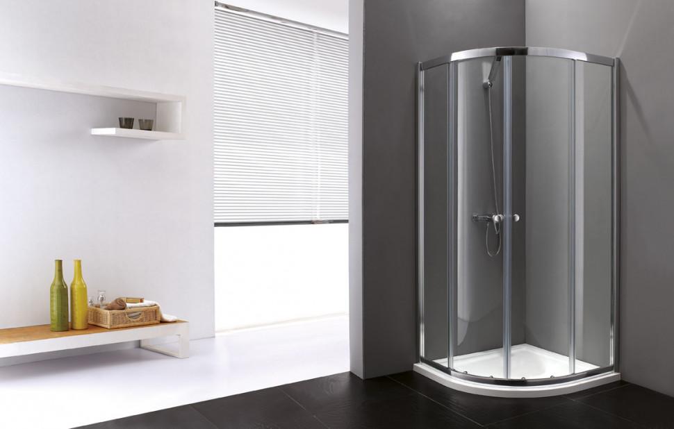 Душевой уголок Cezares Anima 90x90 см прозрачное стекло ANIMA-W-R-2-90-C-Cr-IV