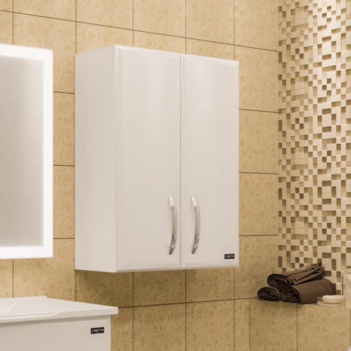 Шкаф подвесной белый глянец Санта Виктория 710014