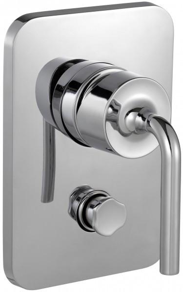 Смеситель для ванны Jacob Delafon Purist E98721-CP встраиваемый переключатель на 3 выхода jacob delafon modulo e98734 cp