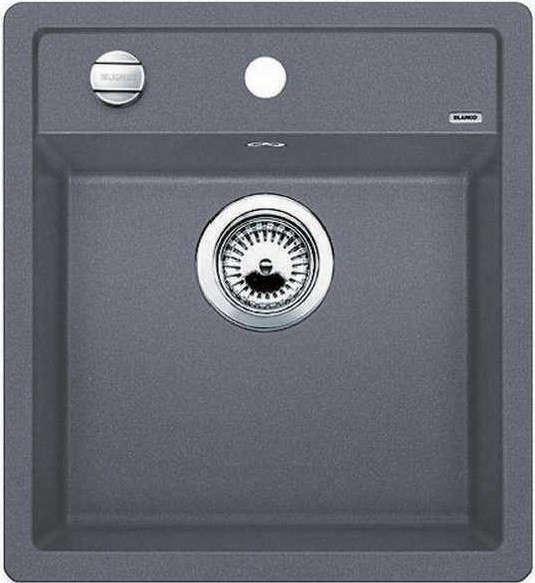Кухонная мойка Blanco Dalago 45-F темная скала 518847 мойка blanco dalago 45 silgranit puradur 518846 тёмная скала размер шхд 46 5см х 51см