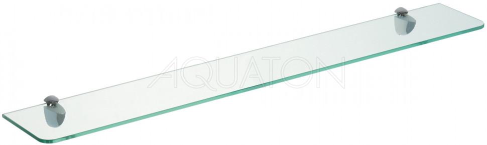 Полка стеклянная 80 см Акватон Ария 1A144603AA010