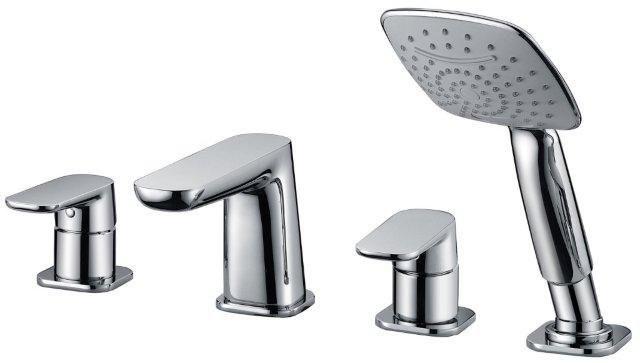 Смеситель на борт ванны Cezares Grace GRACE-C-BVD-01 ручной душ cezares grace grace c def 01