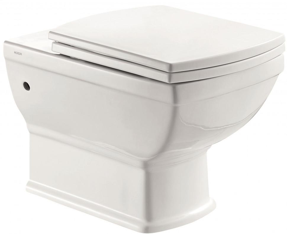 Подвесной унитаз с сиденьем микролифт Creo Ceramique Orleans OR1100+OR1001