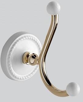 Крючок светлое золото/белый Devon&Devon Dorothy DOR413OT кольцо для полотенец светлое золото белый devon