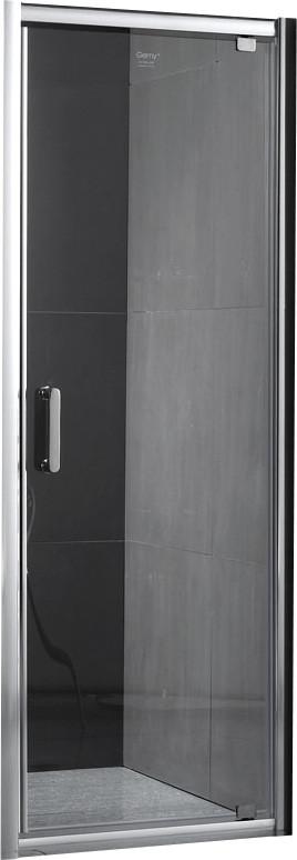 Душевая дверь 80 см Gemy Sunny Bay S28150 прозрачное фото