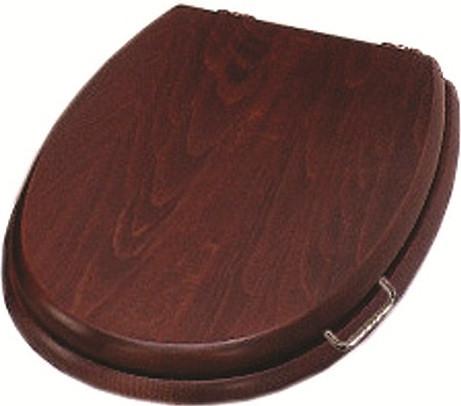 Сиденье для унитаза с микролифтом Simas Lante LA008noce/cr крышка сиденье для унитаза simas lante la007