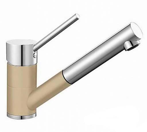 Смеситель для кухни Blanco Antas-S Хром/Шампань 515352 смеситель для кухни blanco antas хром белый 515339