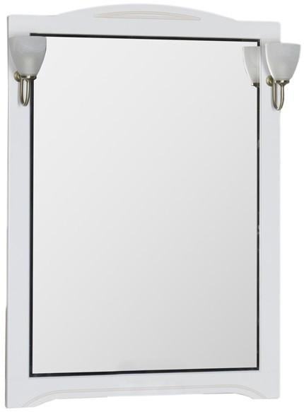 Зеркало 80х112 см белый Aquanet Луис 00173217