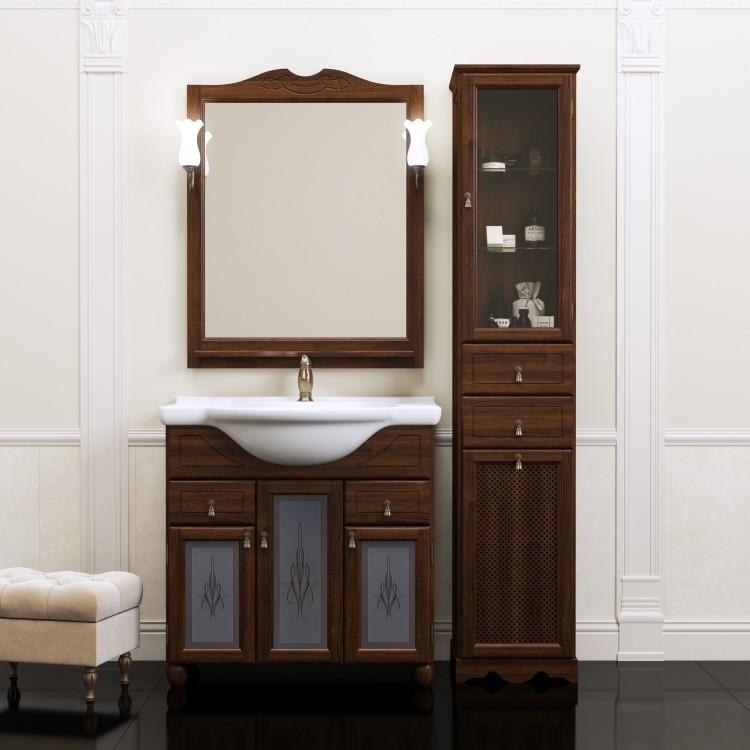 Фото - Комплект мебели орех антикварный 87 см Opadiris Тибет TIBET80KOMP46ST комплект мебели орех антикварный 107 см opadiris риспекто rispecto100komp46