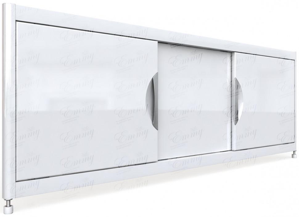 цена на Экран под ванну 169,5х52 см белый Emmy Малибу EMMYMAL17052BEL