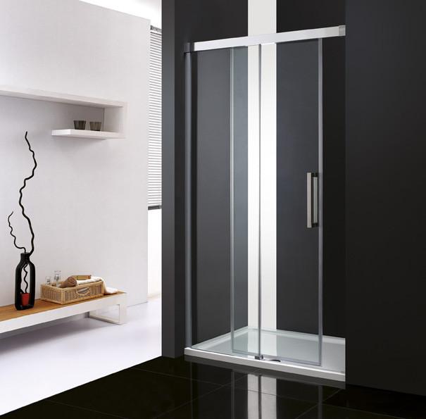 Душевая дверь раздвижная Cezares Premier-Soft 130 см прозрачное стекло PREMIER-SOFT-W-BF-1-130-C-Cr-IV цена