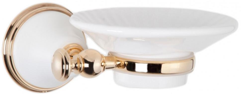 Мыльница белый/золото Tiffany World Harmony TWHA106bi/oro фото