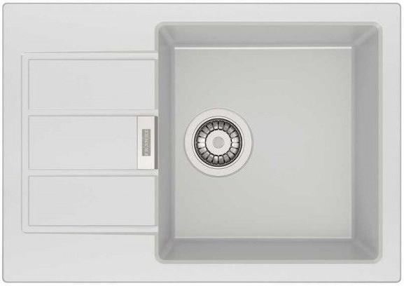 Кухонная мойка Tectonite Franke Sirius SID 611-62/38 полярный белый 114.0489.204