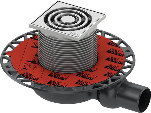 Душевой трап 105x105/50 мм Tece TECEdrainpoint S 110 3601100