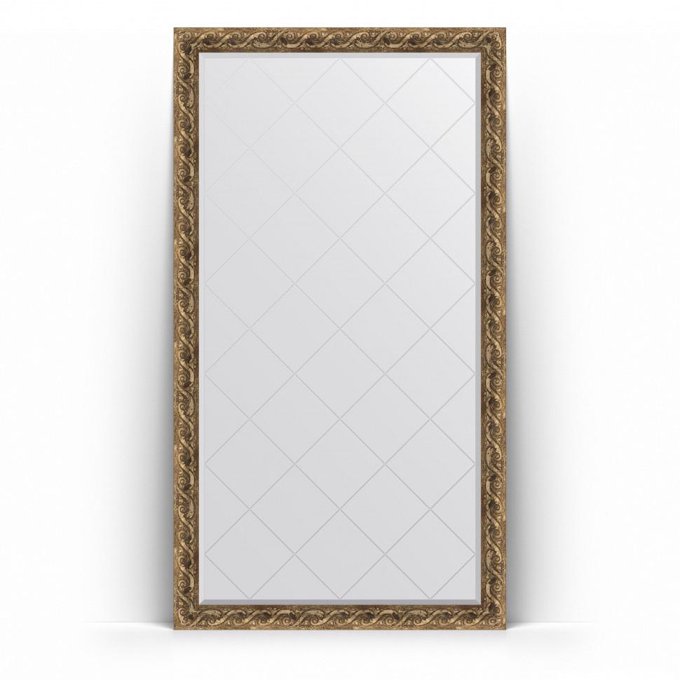 Зеркало напольное 111х200 см фреска Evoform Exclusive-G Floor BY 6351 зеркало evoform exclusive g 185х131 фреска