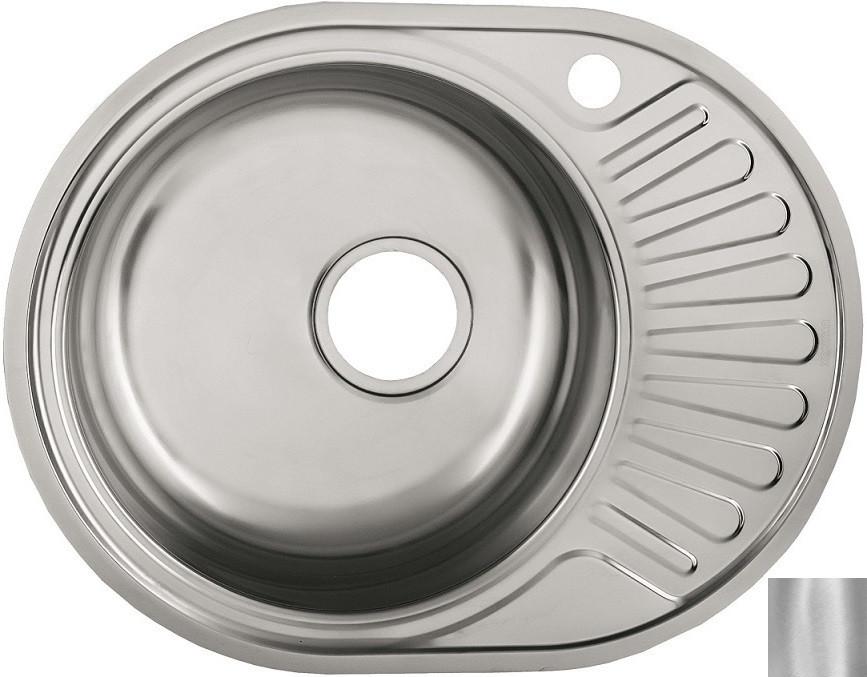 Кухонная мойка матовая сталь Ukinox Фаворит FAD577.447 --T6K 2L фото