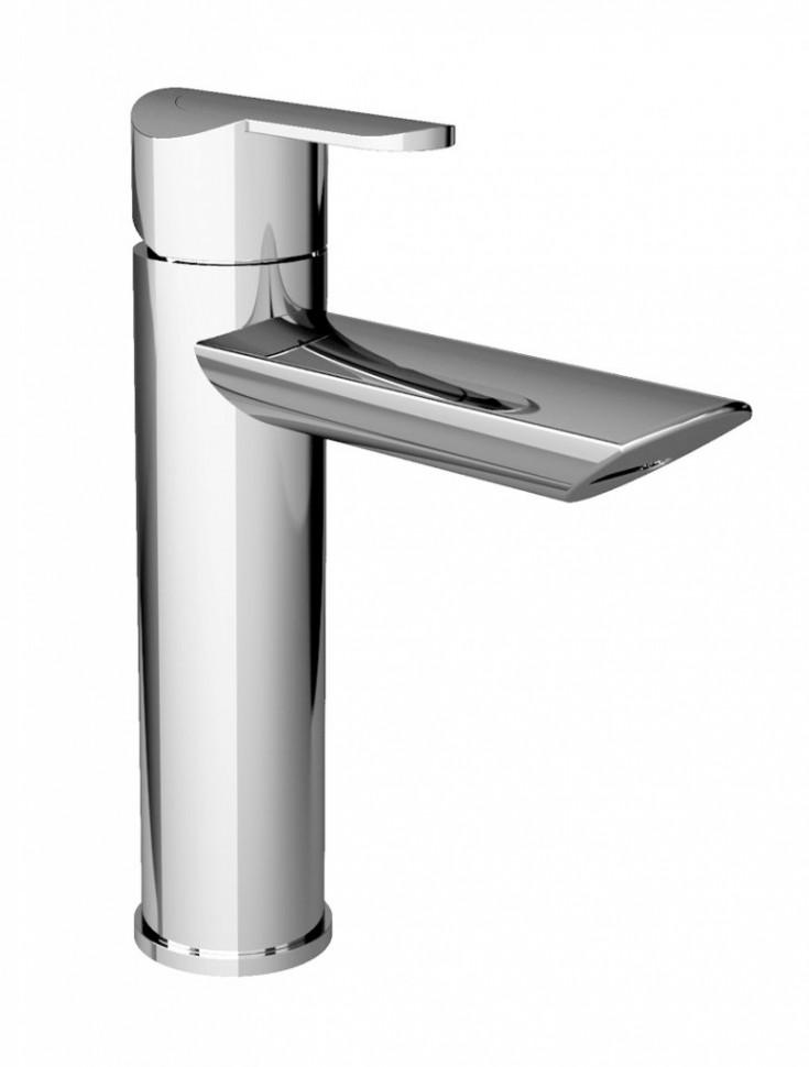 лучшая цена Смеситель для раковины с донным клапаном хром, ручка хром Cezares Garda GARDA-LC-01-Cr