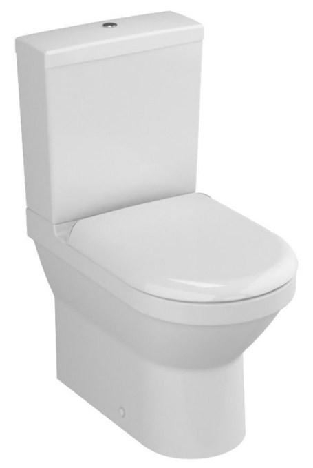 Унитаз-компакт с сиденьем стандарт и с механизмом смыва Geberit Vitra S50 9798B003-7200