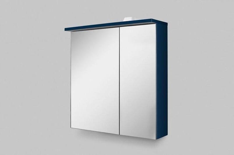 Зеркальный шкаф 60х68 см глубокий синий матовый L Am.Pm Spirit V2.0 M70AMCL0601DM недорого