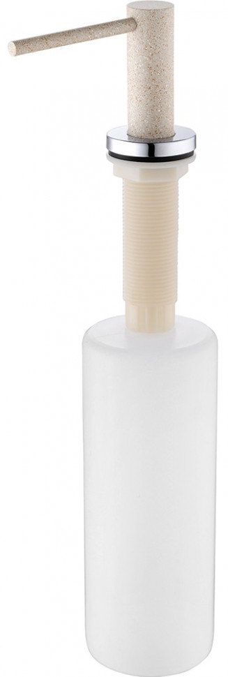 Дозатор для жидкого мыла 500 мл бежевый Franke Neptune 119.0287.556 franke neptune оникс