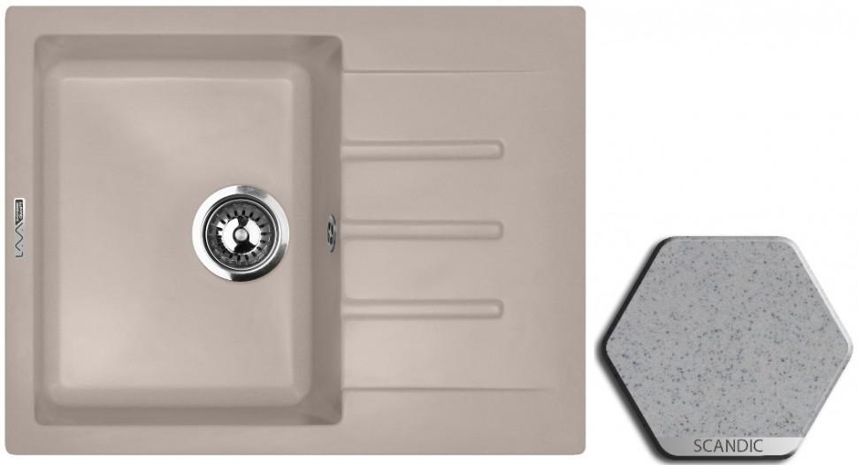 Кухонная мойка SCANDIC Lava L1.SCA цена и фото