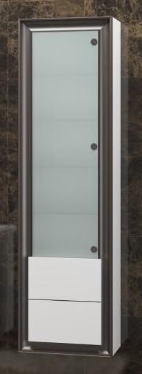 Пенал подвесной белый глянец Opadiris Глория Z0000001662