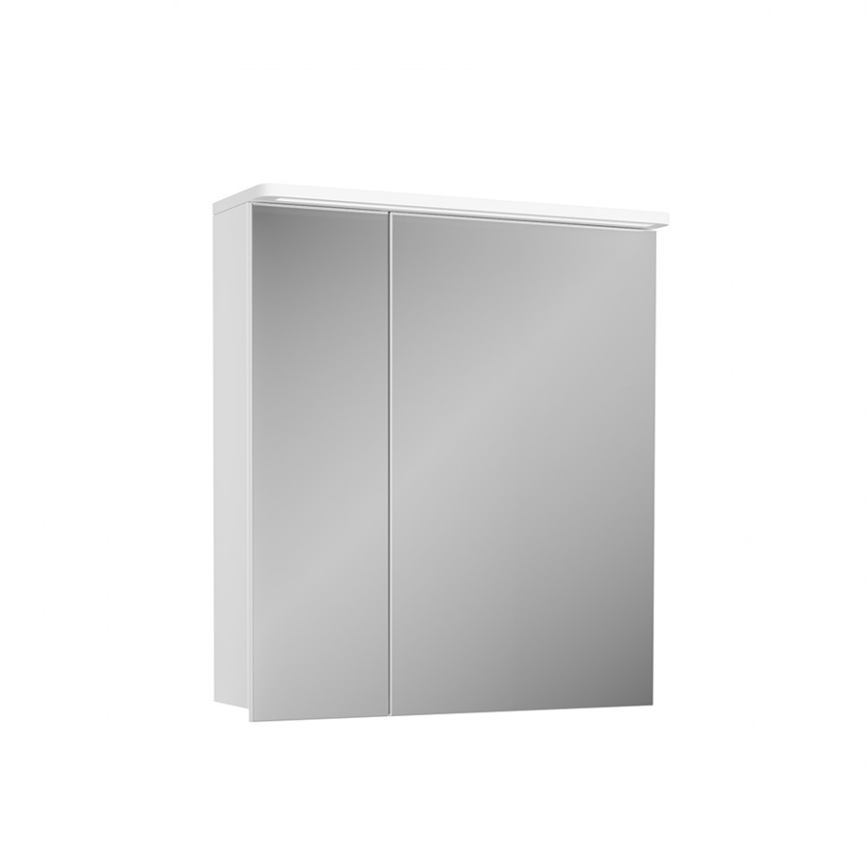 Зеркальный шкаф 60х72,2 см белый Diborg Katarine 77.4103 фото