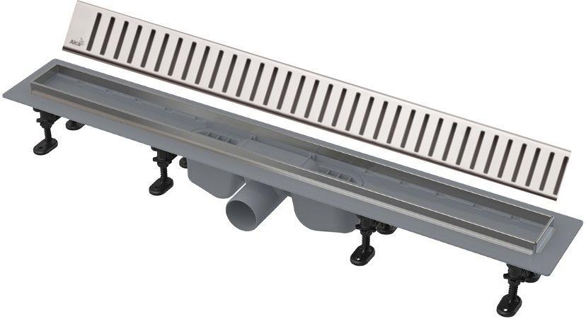 Душевой канал 744 мм нержавеющая сталь AlcaPlast APZ22 Pure APZ22-750 + PURE-750M