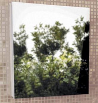 Зеркальный шкаф 58х74 см белый глянец Comforty Диана 00003121162 цена