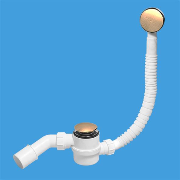 Слив-перелив для ванны ClickClack McALPINE MRB11-AB