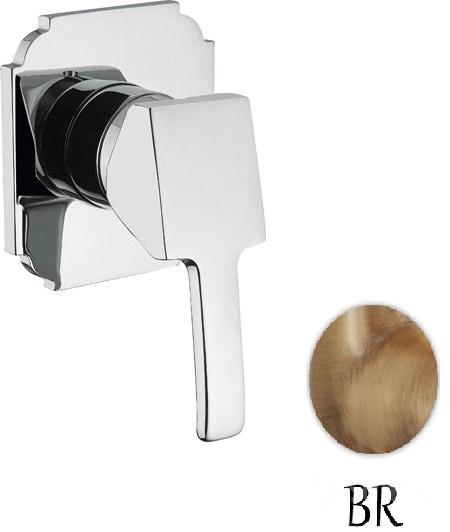 лучшая цена Встраиваемый однорычажный смеситель для душа бронза Cezares Legend LEGEND-DIM-02