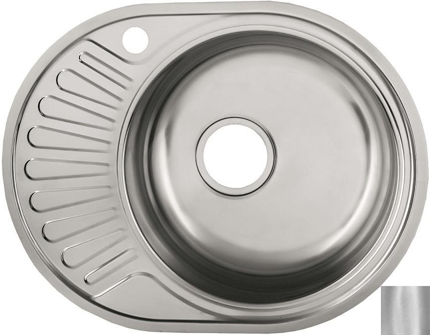 Кухонная мойка матовая сталь Ukinox Фаворит FAD577.447 -GT6K 1R ukinox fad 760 470 gt6k l