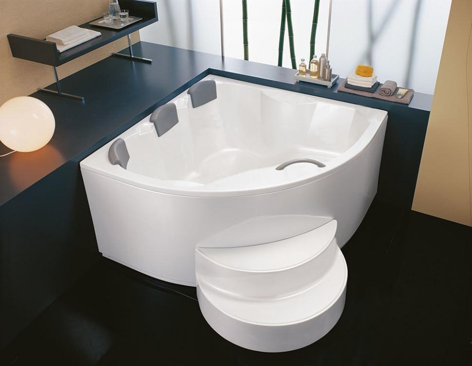Акриловая ванна 160х160 см Kolpa San Gaia Basis акриловая ванна kolpa san string 190x90 см на каркасе слив перелив