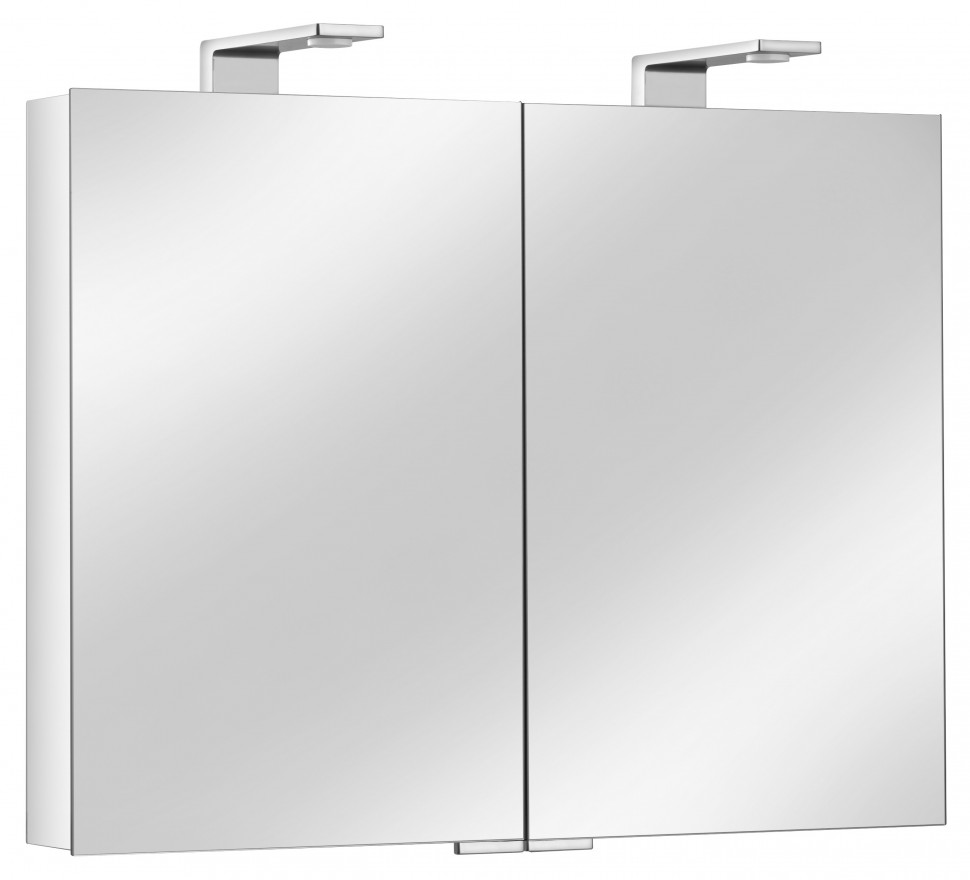 Зеркальный шкаф со светодиодной подсветкой 80х75 Keuco Royal Universe 12703171301 фото