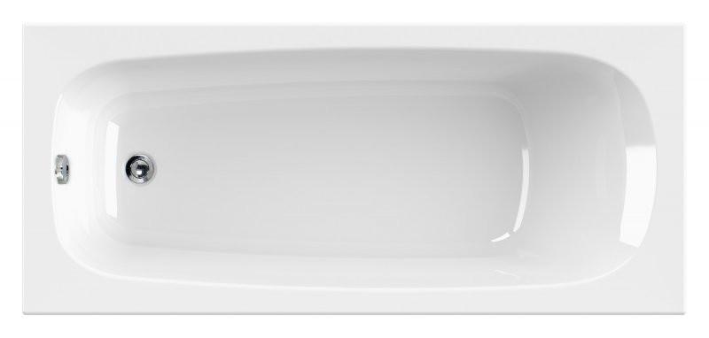 Акриловая ванна 170х70 см Cezares Eco ECO-170-70-41 акриловая ванна cezares modena modena 170 70 41 170x70