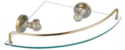Полка угловая 27,5х27,5 см Fixsen Antik FX-61103А