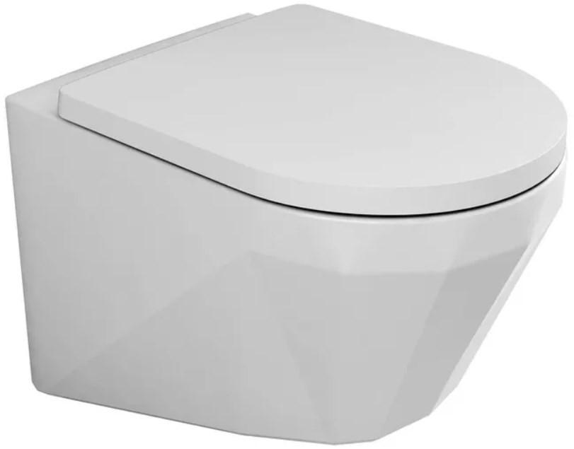 Подвесной безободковый унитаз с функцией биде с сиденьем микролифт Bien Moly MLKA052N1VP1W3000 унитаз биде bien pent pnka052n1vp1w3000 подвесной с сиденьем микролифт