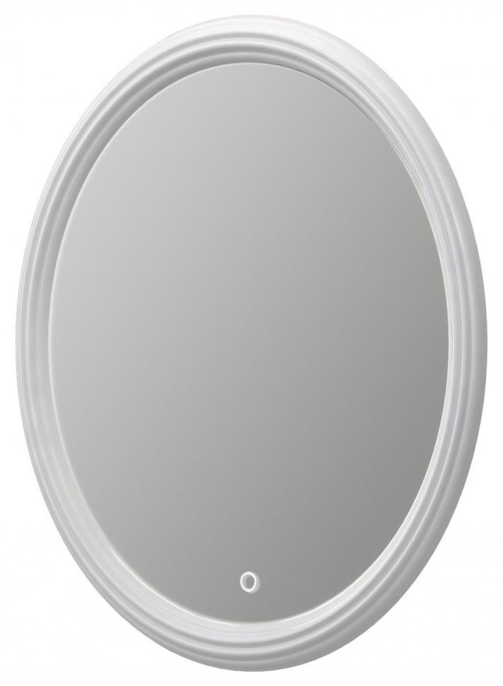 Зеркало белый глянец 70х95 см Aima Design Pearl Light У51943