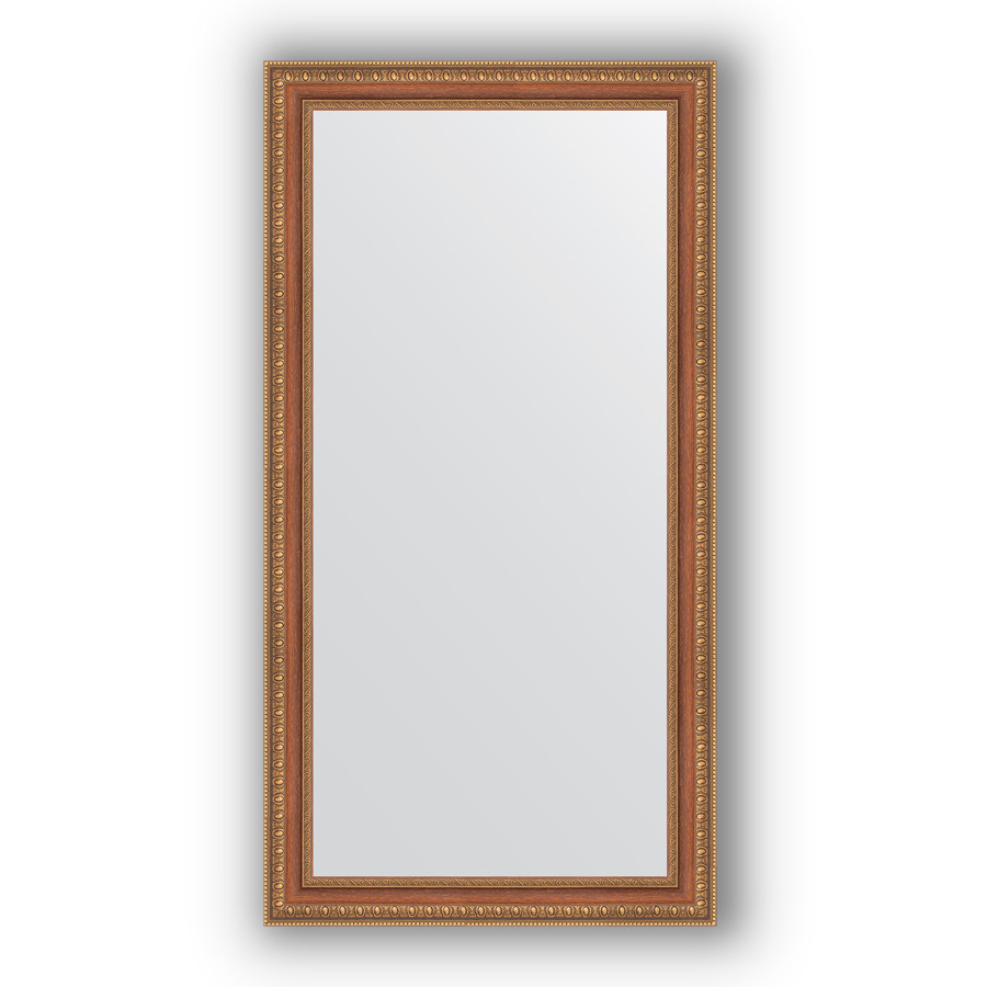 цена на Зеркало 55х105 см бронзовые бусы на дереве Evoform Definite BY 3075