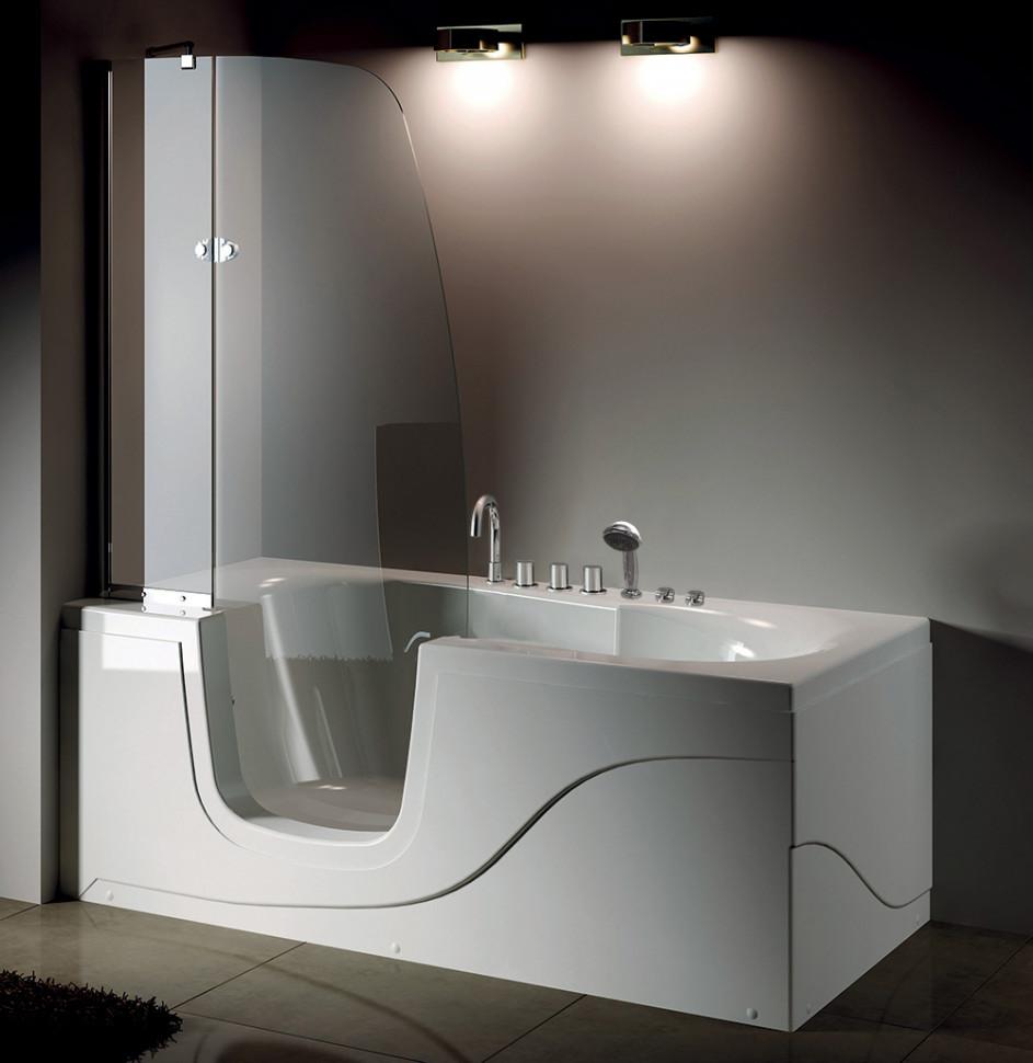 Акриловая гидромассажная ванна 170х80 см L Gemy G9246B L акриловая ванна 170х80 см gemy g9231b