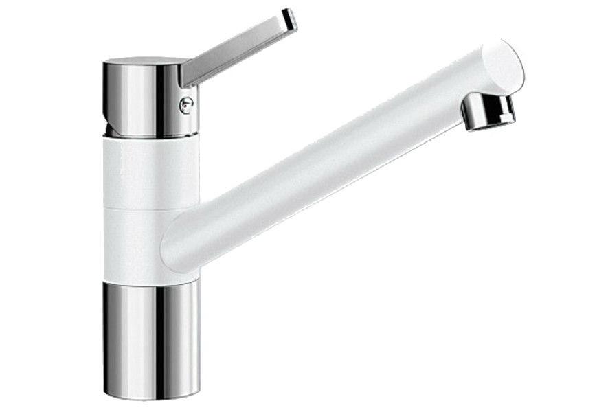 Смеситель для кухни Blanco Tivo Хром/Белый 517603