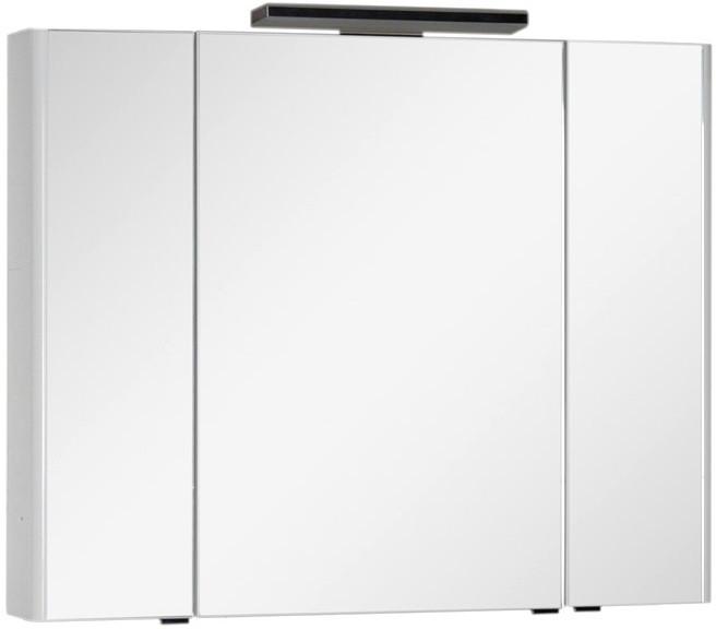 Зеркальный шкаф 105х85 см белый Aquanet Орлеан 00183078 зеркальный шкаф 55х88 1 см белый aquanet стайл 00181511