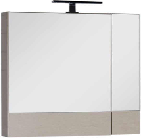 Зеркальный шкаф 75х67 см светлый дуб Aquanet Нота 00158857
