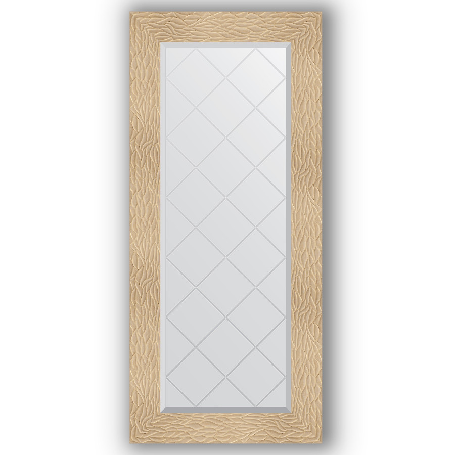 Зеркало 56х126 см золотые дюны Evoform Exclusive-G BY 4064 герберт фрэнк дюна дюна мессия дюны дети дюны