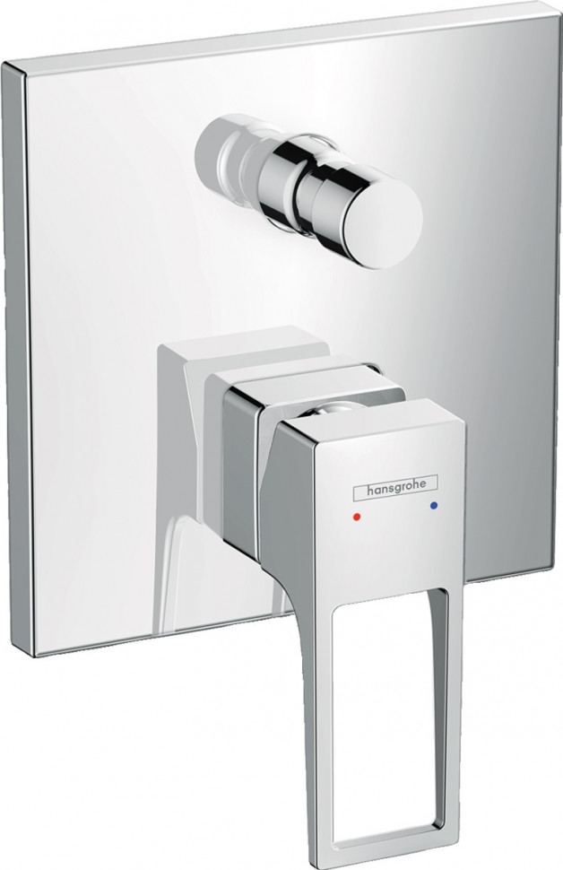 Смеситель для ванны Hansgrohe Metropol 74545000 смеситель для ванны hansgrohe metropol s 14461000