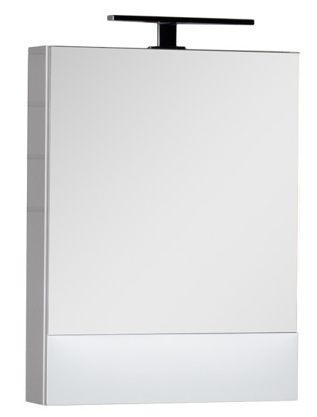 Зеркальный шкаф 50х67 см белый Aquanet Нота 00175670